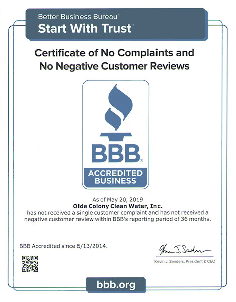 3 Years without a Complaint on BBB