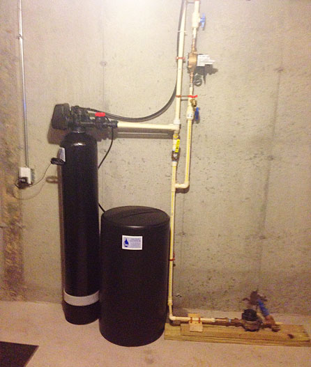 Water softener for blackstone home