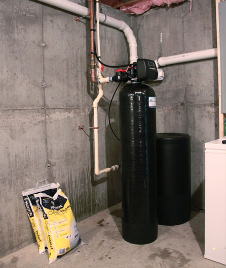 Water softener for Wilmington home